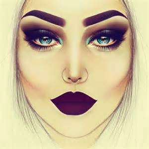 25 best ideas about makeup drawing on pinterest pencil