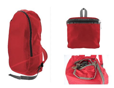water resistant collapsible backpack zipper pocket inside ebay