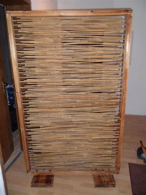 wohnzimmereinrichtung holz raumteiler bambus holz braun in n 252 rnberg sonstige