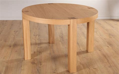 Oak Dining Room Table by York Round Oak Dining Room Table 105cm Only 163 299 99