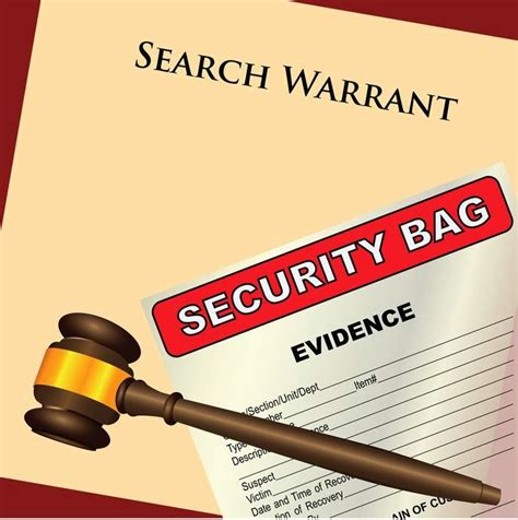 Search Warrant In Challenging The Validity Of A Search Warrant In Ca