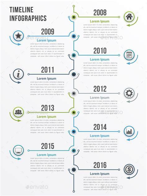 Vertical Timeline Infographics Template Psd Vector Eps Ai Illustrator Best Infographic Timeline Design Template