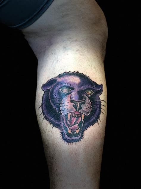 purple panther tattoo purple panther by jaisy ayers tattoos