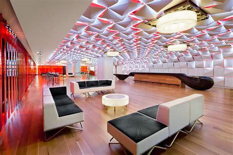 shop ceiling design cosmetics shop design ceiling l d light architecture salon urbain place des arts montreal