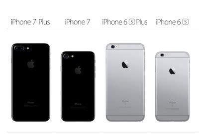 quel iphone choisir entre l iphone 7 l iphone 7 plus l iphone 6s ou encore l iphone 6s plus