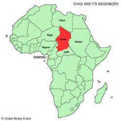 Chad Africa Map by Country Of Chad Map Car Interior Design