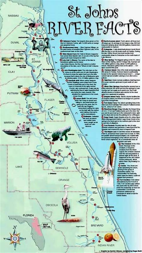 st river map st johns river st johns river map this is usually where i go to fish brackish water around