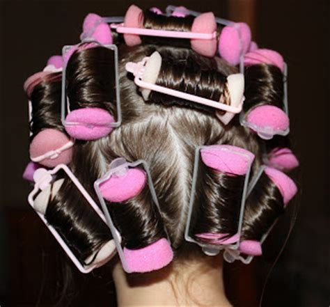 Hair Curlers Fail by Hairstyles For The Wright Hair Sponge Curlers