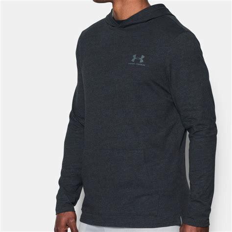 Sports Sleeve Hooded Top armour triblend mens grey hoody sleeve hoodie