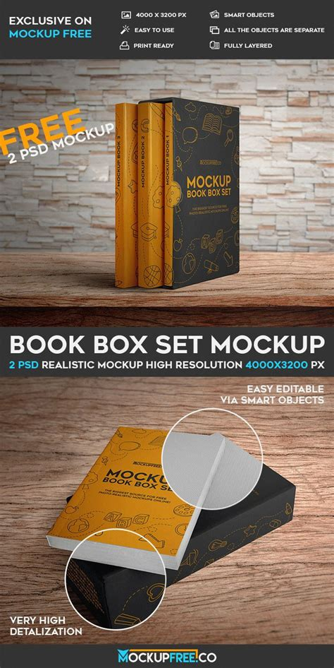 Takeaway Website In A Box Sets You Up With Everything You Need To Start An Shop by Book Box Set 2 Free Psd Mockups Free Psd Templates