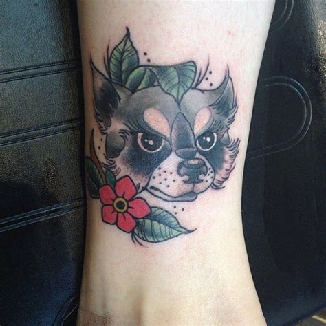 raccoon tattoos designs 18 best images about raccoon on perler