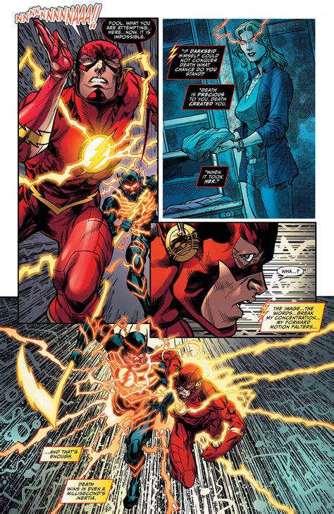 Dc Justre War The Flash exclusive preview justice league darkseid war the flash 1