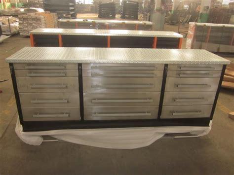 storage work bench china heavy duty canada usa drawer steel metal garage