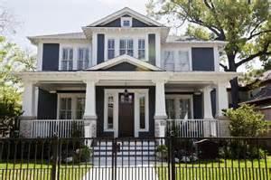 blue craftsman house historic home design renovation feng shui style