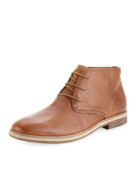 kenneth cole brown shoes kenneth cole boat boy chukka boot brown in brown for
