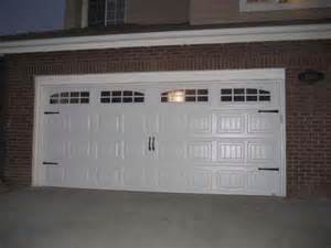 carriage style garage doors carroll garage doors