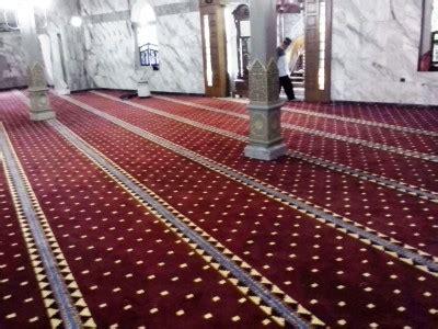 Dan Spesifikasi Karpet Masjid jasa pembersih karpet masjid dan laundry karpet masjid