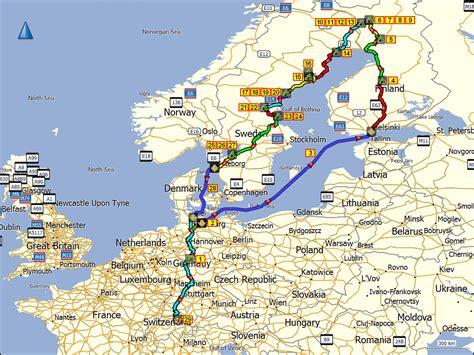 deutschland schweden karte finnland und schweden sommer 2014