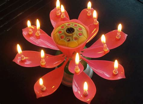20pcs birthday candle lotus candle l candle boxed