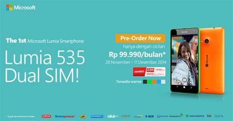 Microsoft Lumia 535 Erafone asik ponsel pertama microsoft lumia sudah bisa dipesan infobdg