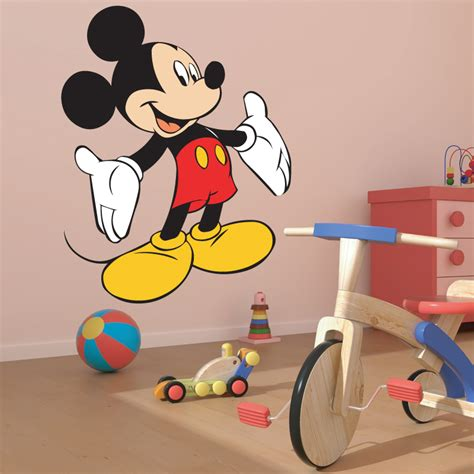 wall stickers etsy mickey mouse wall stickers uk home design