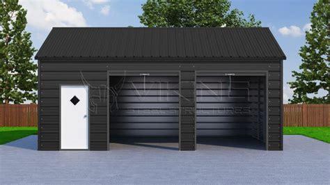and garage door to metal building metal garages side entry car garage prices steel garage