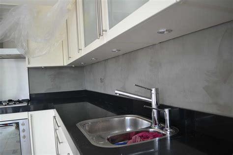 achterwand keuken spachtelputz beton cire achterwand keuken zoetermeer
