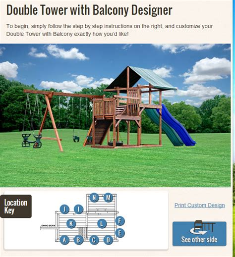 swing set online design your own swing set a family friendly process