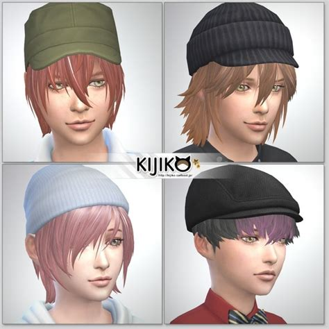 child bob haircut sims 4 hair for kids vol 1 at kijiko 187 sims 4 updates