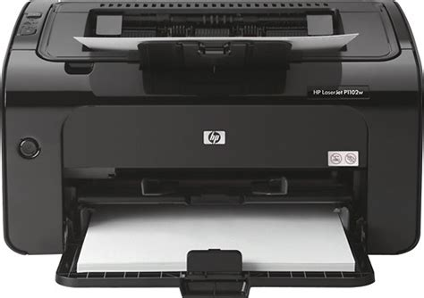 Printer Laserjet Black And White hp laserjet pro p1102w wireless black and white printer