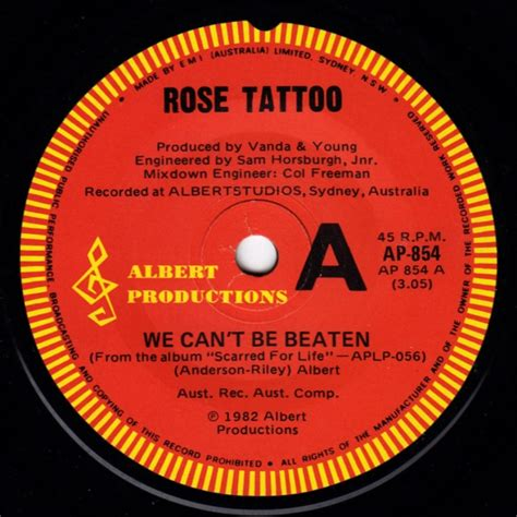 rose tattoo lyrics we can t be beaten rose tattoo we can t be beaten reviews and mp3