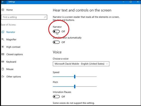 windows 10 narrator tutorial how to use windows 10 s narrator to read your screen aloud