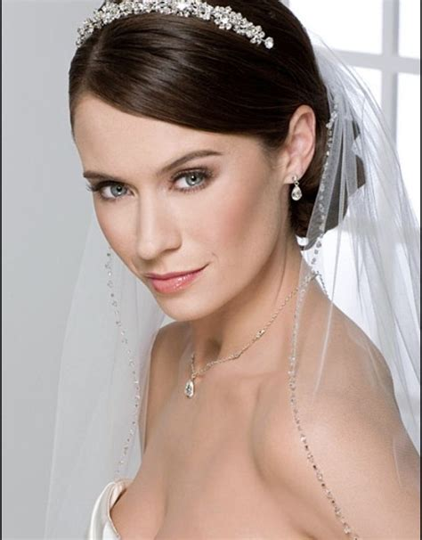 Wedding Hair Tiara by Wedding Hairstyles With Tiara For Hair