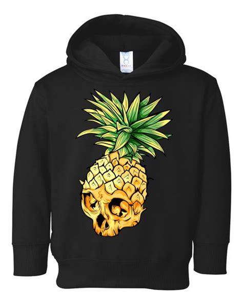 Pineapple Hoodie pineapple skull toddler hoodie teeshirtpalace