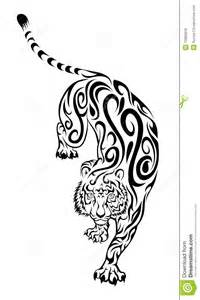 tiger tattoo royalty free stock photos image 13965878