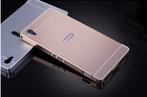 Casing Xperia Z2 One Logo Custom Cover for sony xperia z2 aluminum bezel pc back cover mobile phone covers protective cases for