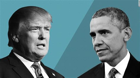 donald trump vs obama barack obama takes on donald trump cnnpolitics