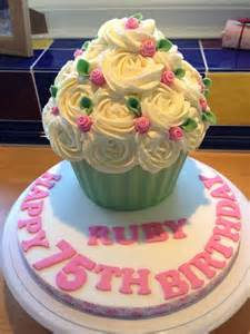 1000 ideas about giant cupcake cakes on pinterest big
