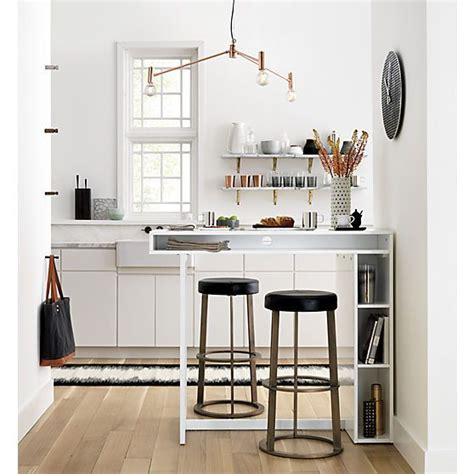 cb2 kitchen island 17 best images about kitchen inspo on pinterest wide plank super white granite and copper