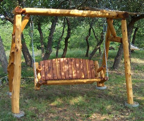 yard swing frame outdoor