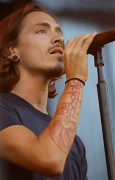 brandon boyd tattoo brandon boyd of incubus tattoos pictures photos of his tattoos