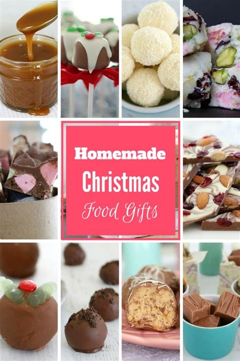 homemade christmas food gifts bake play smile