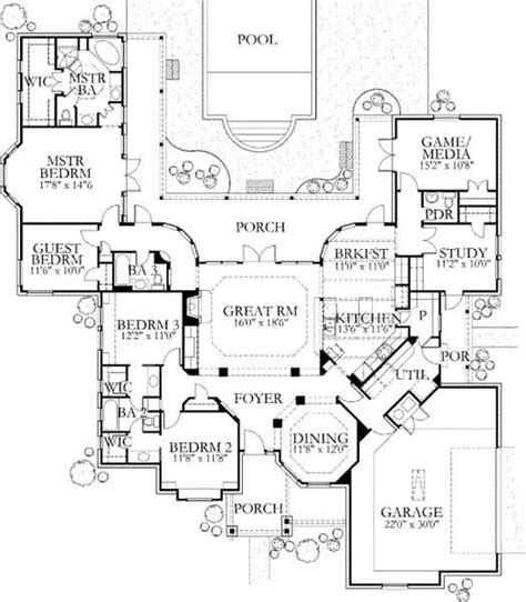 house plans with indoor pool and 3 bedrooms house plans with indoor pool and 3 bedrooms 28 images 5483 square feet 6 bedrooms