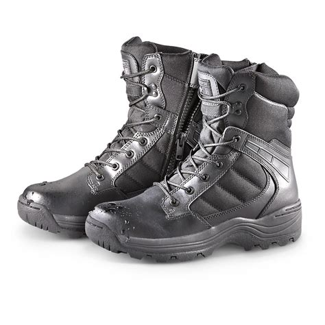 Sepatu Boot Tactical Unitewin 8in s converse 174 one 174 8 quot waterproof side zip boots black 205879 combat tactical
