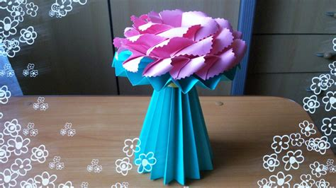 Handmade Crafting - diy amazing handmade crafts how to make an origami vase