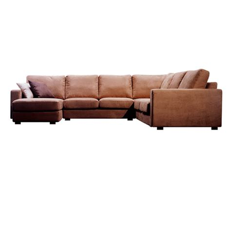 Microfiber Sofa Sectional Wholesale Interiors 4 Microfiber Sofa Sectional Grey Td6309 D Kf 14