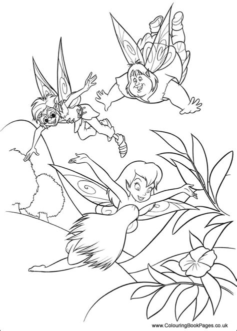 Tinkerbell Colouring Pages : Disney Fairies