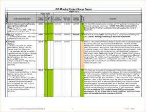 Project Reporting Template Excel by 3 Project Status Report Template Excelreport Template