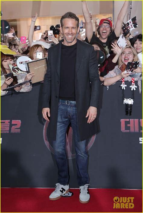deadpool 2 carpet premiere is in seoul for deadpool 2 premiere