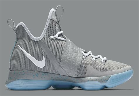 Nike To Release Air Mcflys Let This Be True by Marty Mcfly S Nike Mag Meets The Lebron 14 The Cat